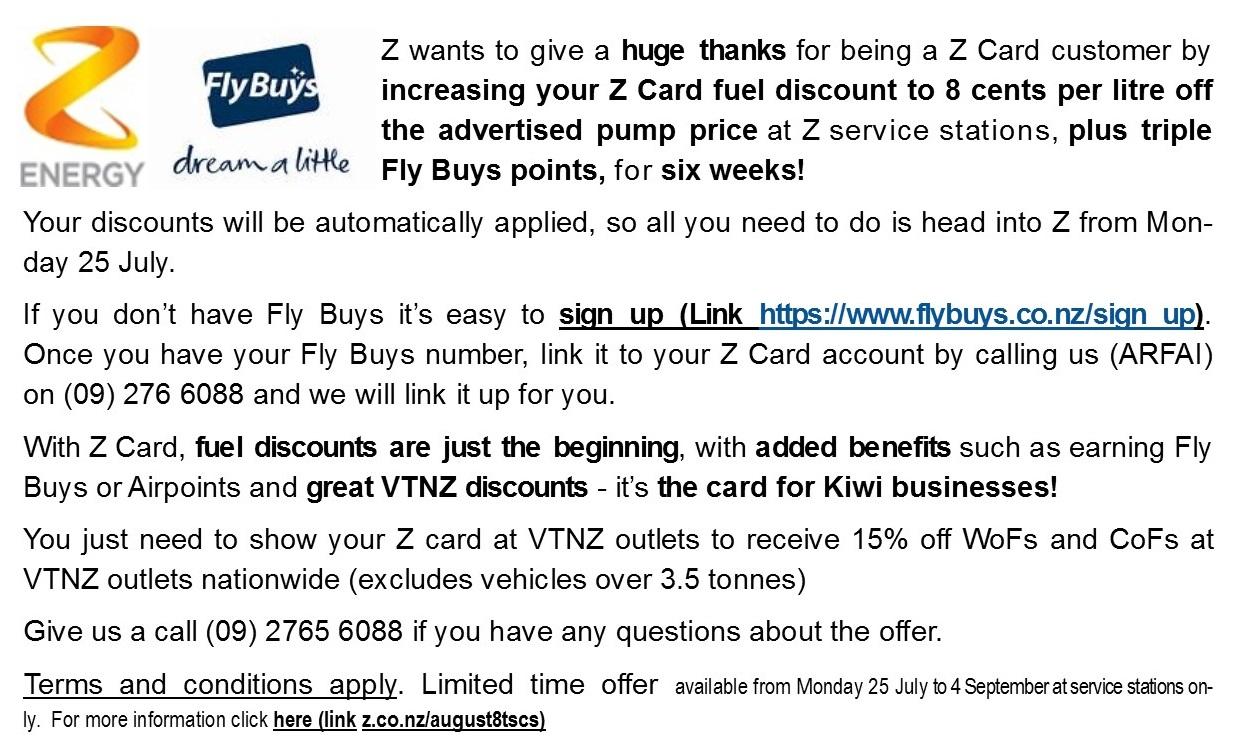 Z Offer July 2016