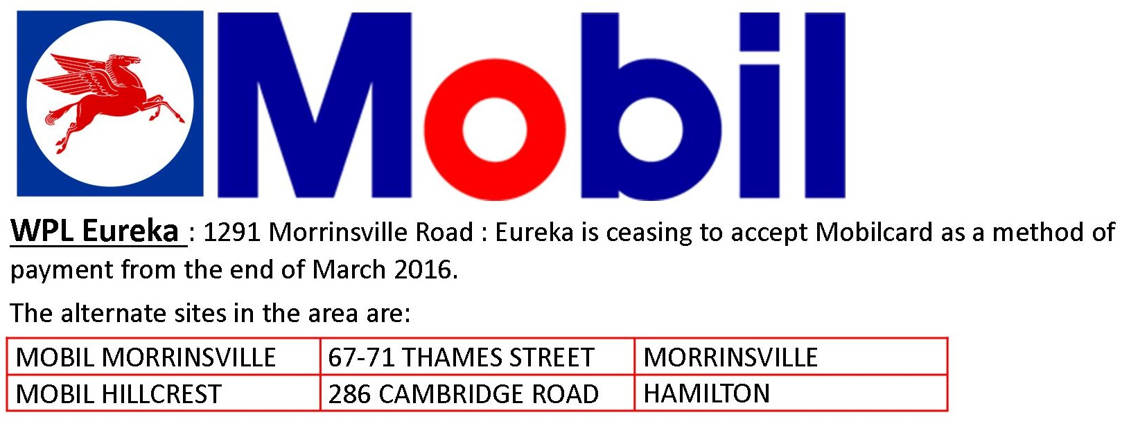 mobil WPL announcement 10 Mar 2016